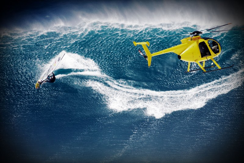 levi-siver-windsurfing