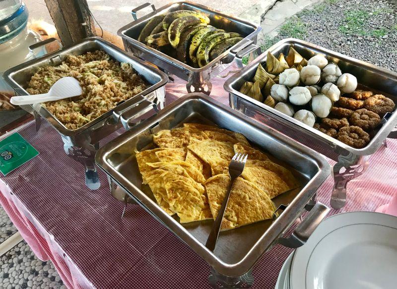 BaliTrees retreat food
