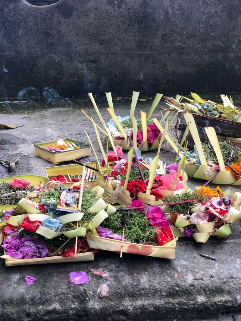 offerings in the temple