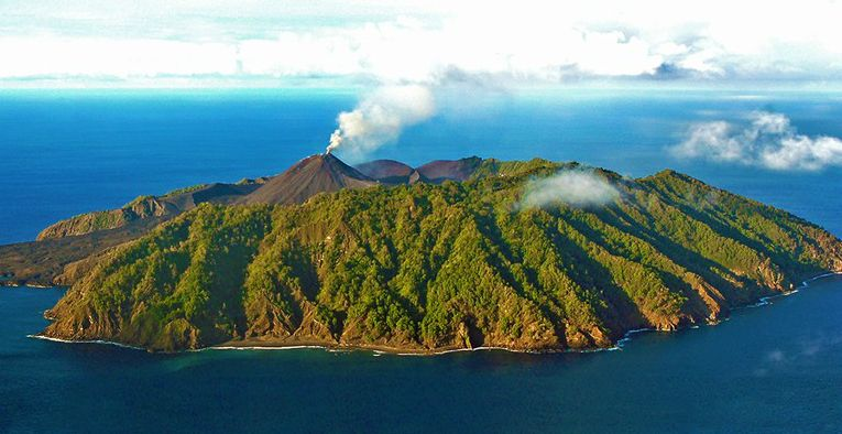 the Barren Island