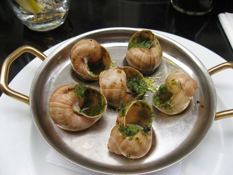 Escargot (snails) in France