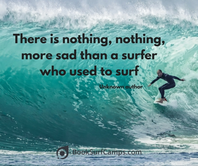 Surfer quote