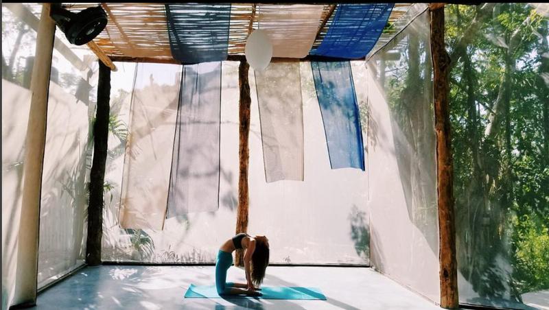yoga retreat in tulum