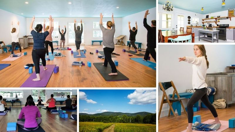 yoga retreat in catskills , new york