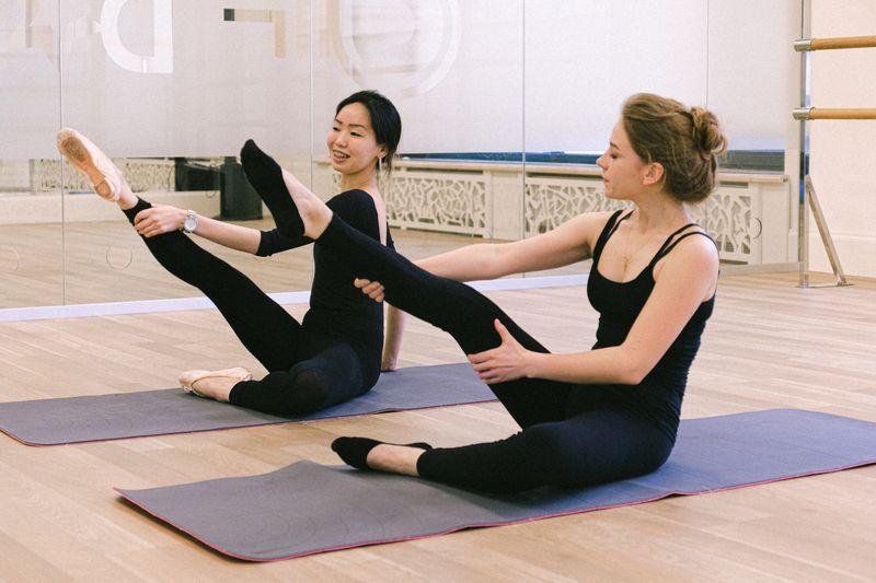 dancing yoga