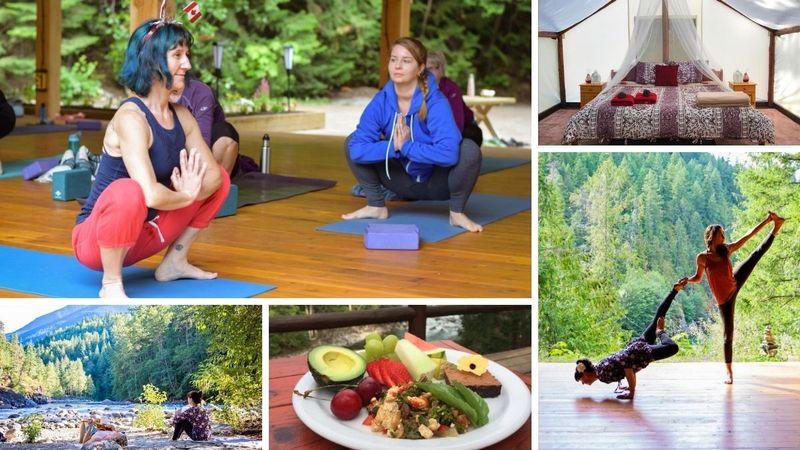 6 Day Vitality Yoga, Rafting, and Hiking Holiday in Boston Bar, British Columbia