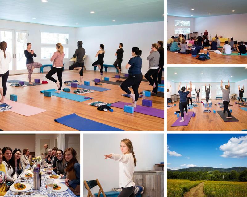 yoga retreat in New York