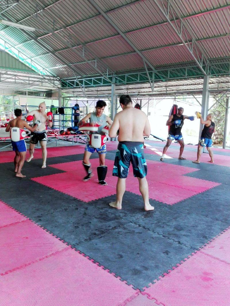 muay thai training in ao nang