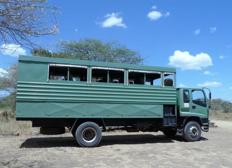 overland truck safari