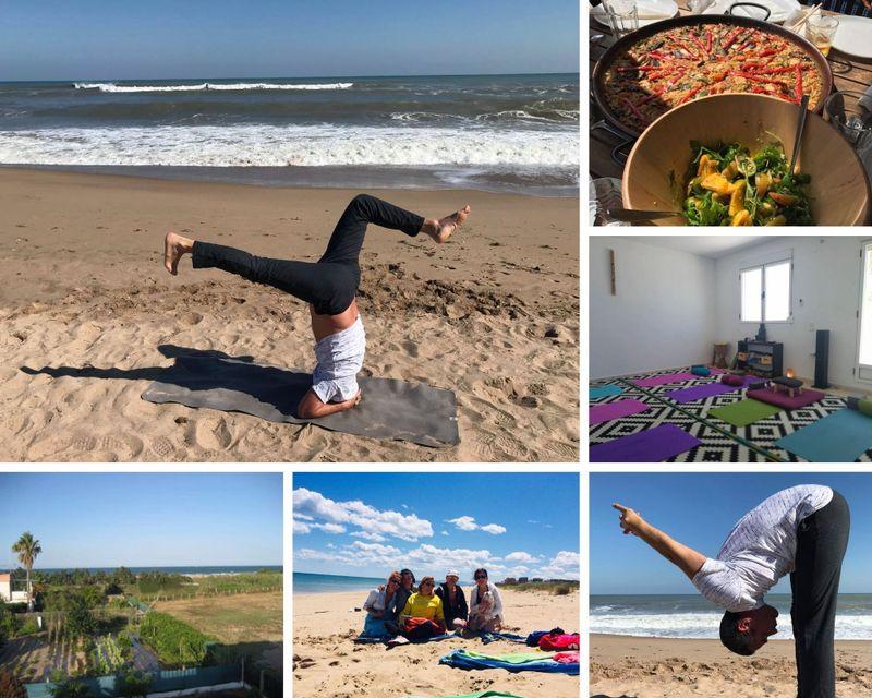yoga retreat in Valencia