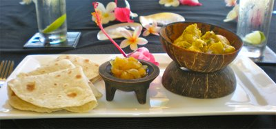 our family foodie trip at taveuni palms - fijian fish curry by teila