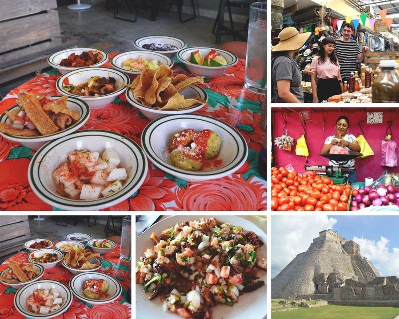 mexican culinary delicacies, chocolate and more in Merida, Yucatan