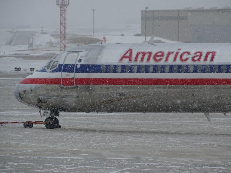 frozen airplane