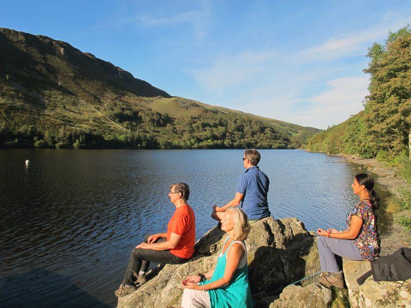 yoga retreat in Gwynedd
