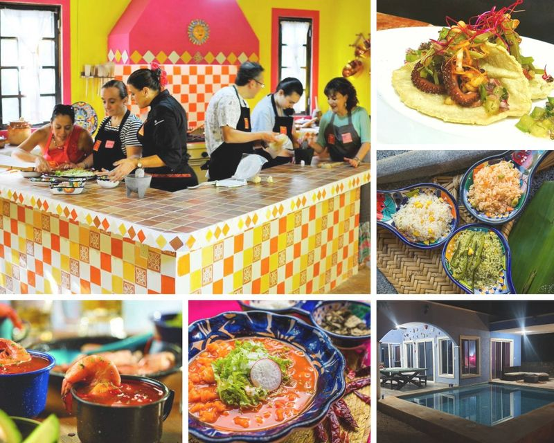 8 Day Cooking Vacation with World Class Chefs in Riviera Maya, Valladolid and Nuevo Durango, Mexico