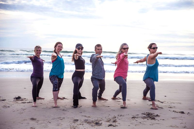 yoga retreat in california beach