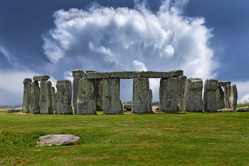 stonehenge mysterious stones uk photo yoga travel