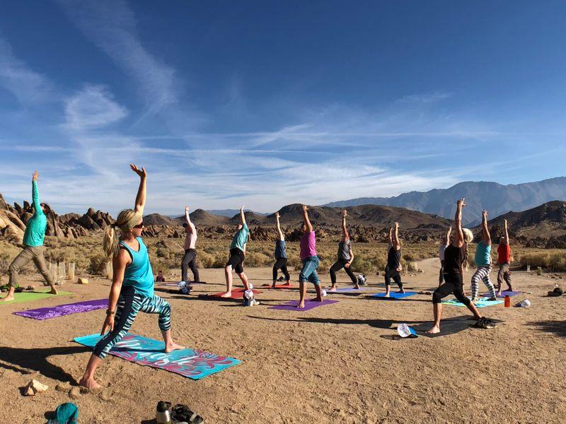 yoga retreat in California