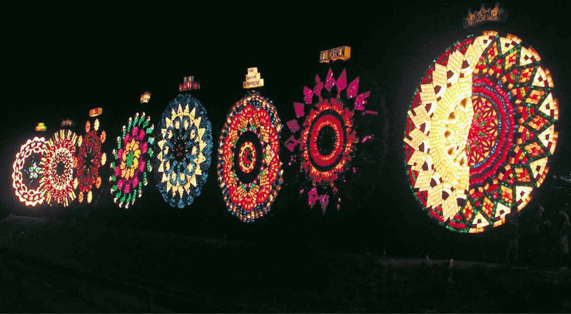 giant lantern festival Philippines