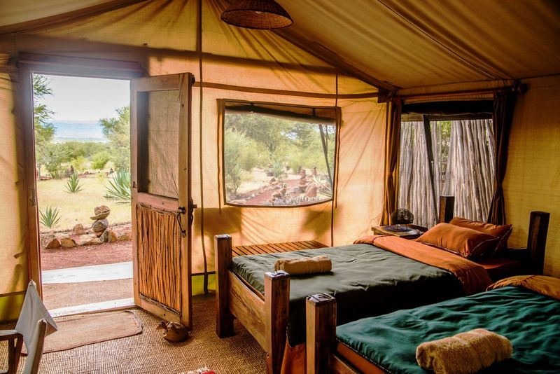 luxury camping at ngorongoro crater