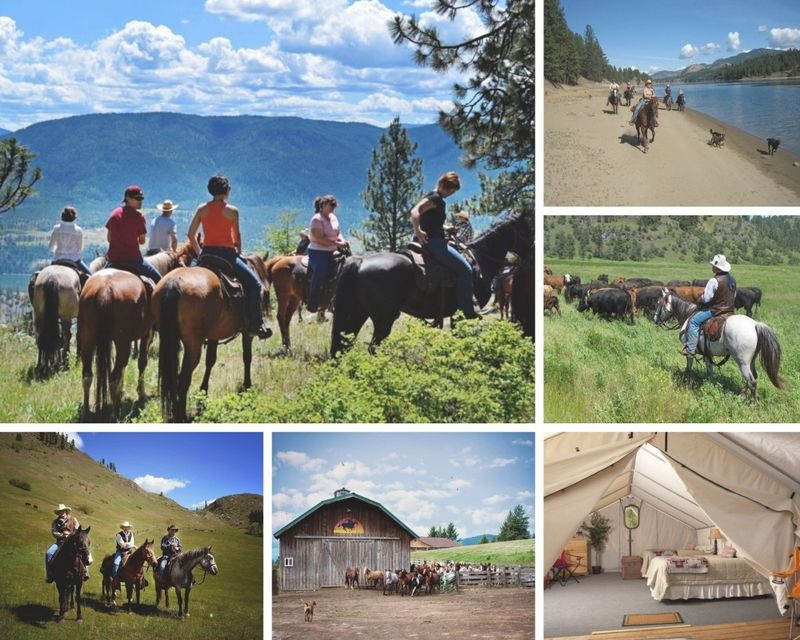 weekend horse riding usa - 4 day ranch vacation in washington