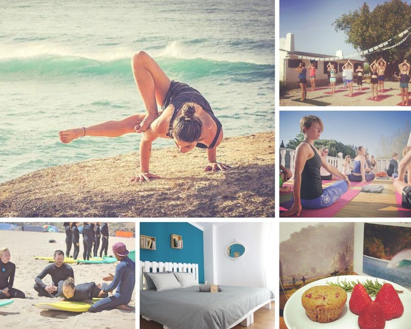 surfing and yoga holiday in ericeira portugal