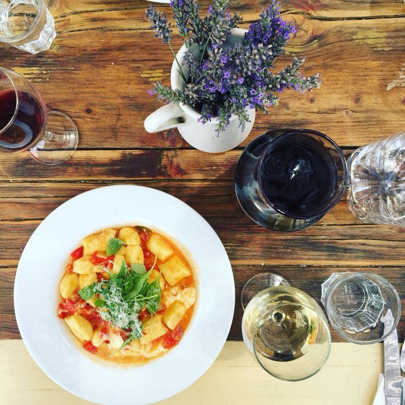pasta dish in tuscany, italy