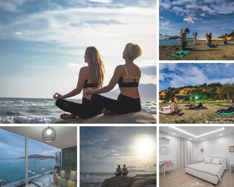 5 Day VIP Hippocratic Retreat with Personal Training and Yoga in Zakynthos