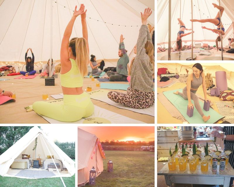3 Day Weekend Bliss Retreat with Yoga, Pole, and Cocktails in Waterperry, Oxfordshire