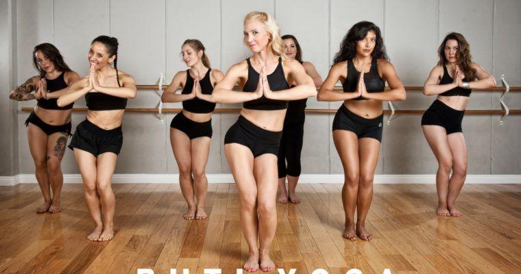 buti yoga class women dancing