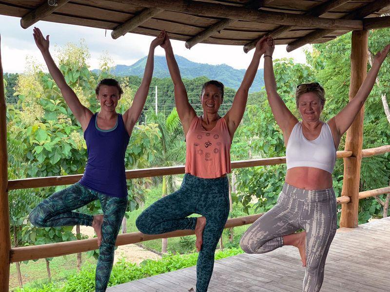 yoga retreat guanascate
