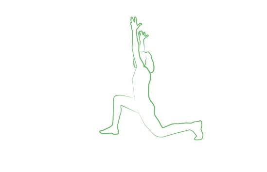 low lunge yoga pose tripaneer