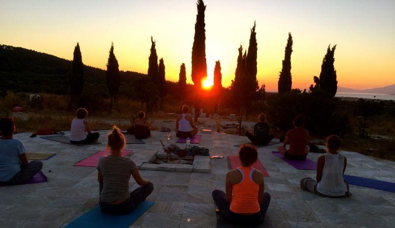 yoga retreat in kos