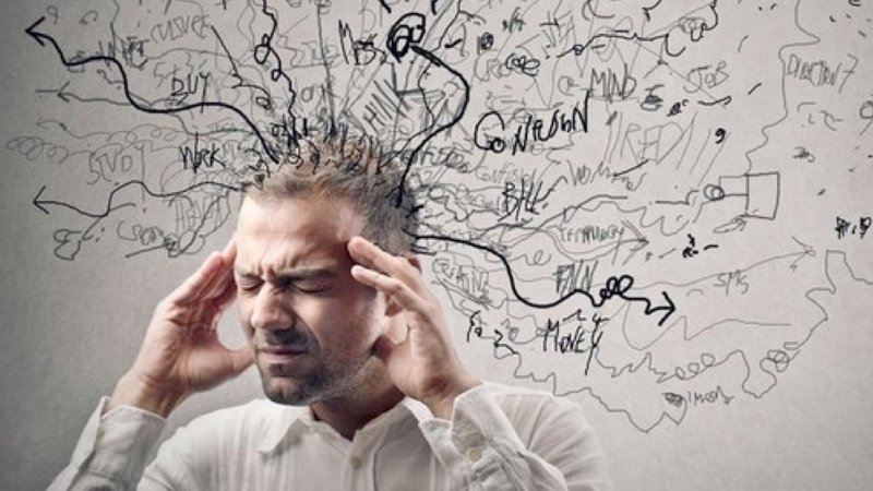 overwhelmed mind