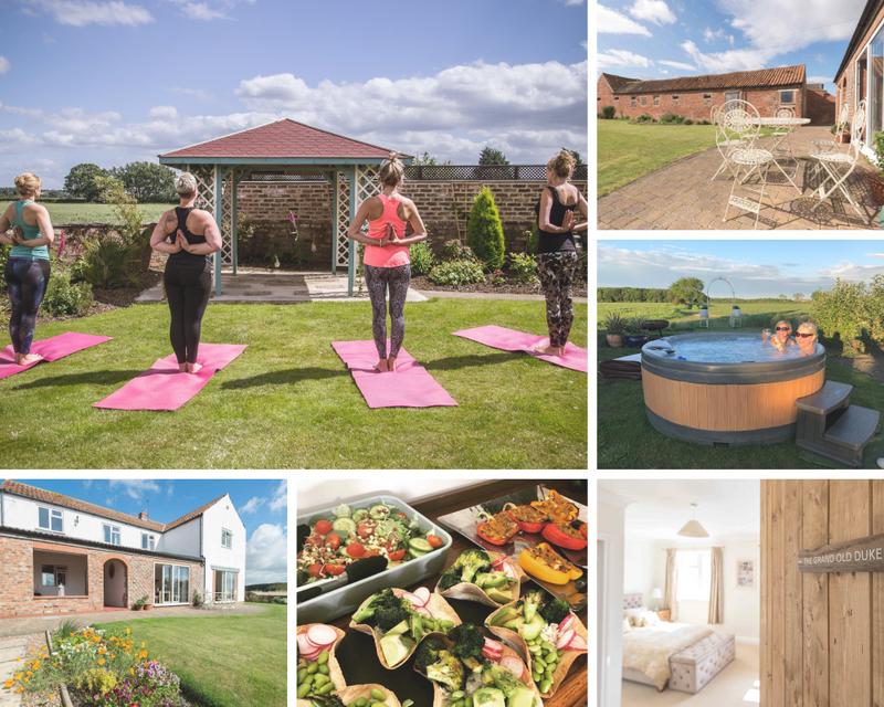 luxury yoga retreat in yorkshire