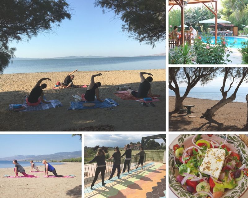 dance , pilates, and yoga retreat in lesbos