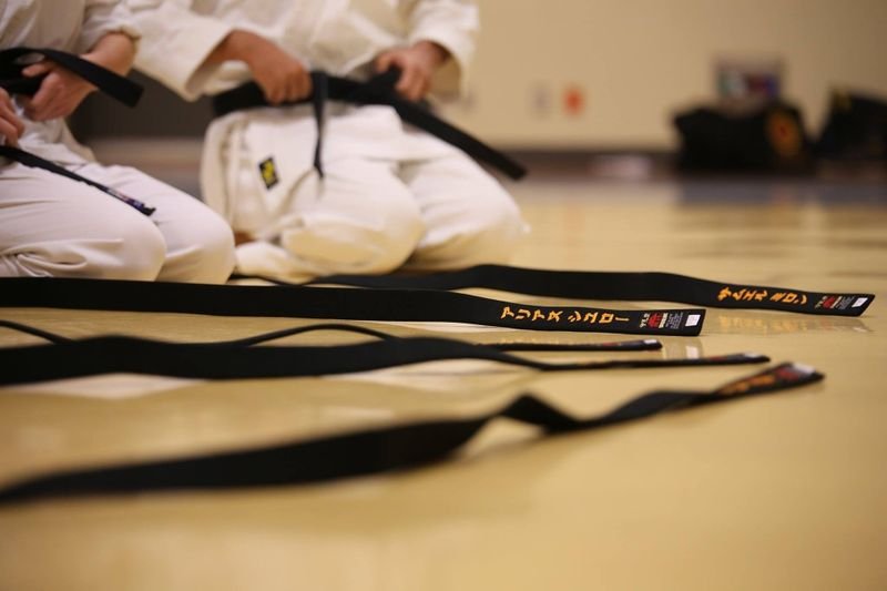 black belts martial arts