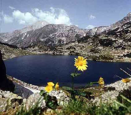 rila mountains in bulgaria