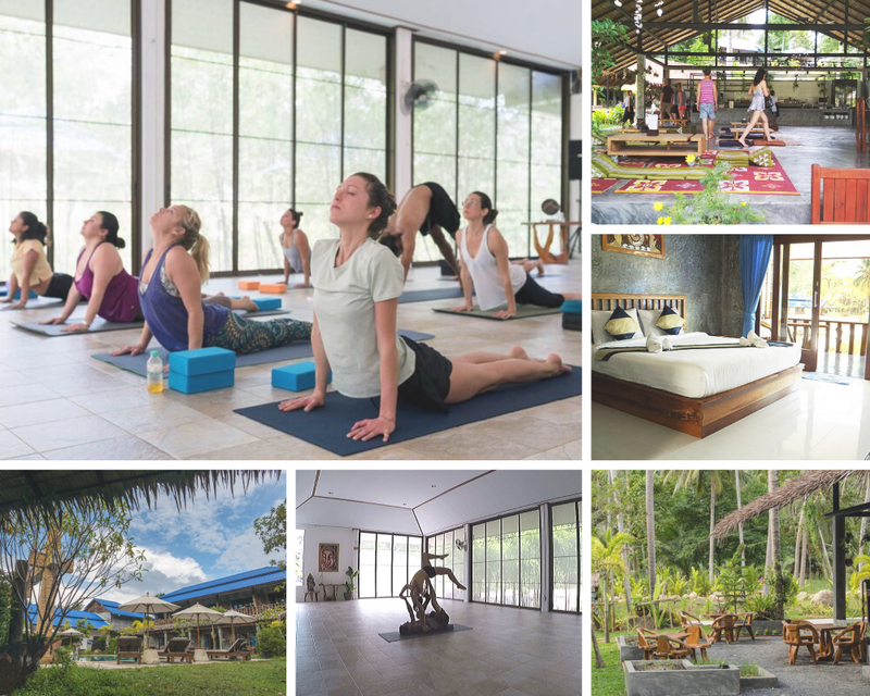 yoga shala retreat in thailand