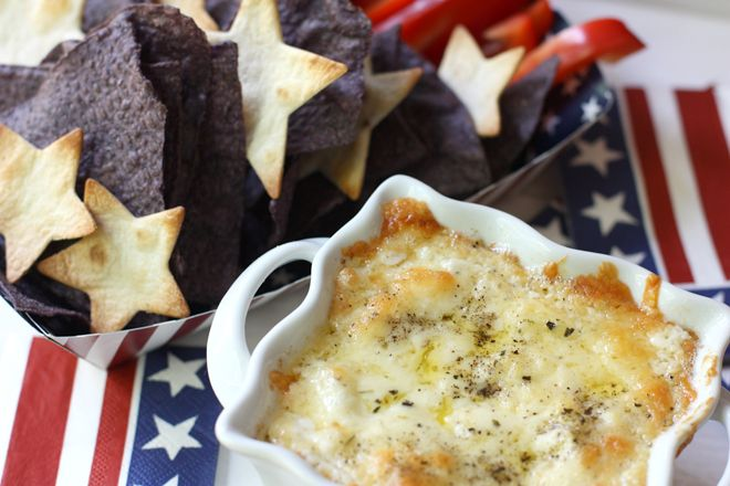 4th of july cheese dip