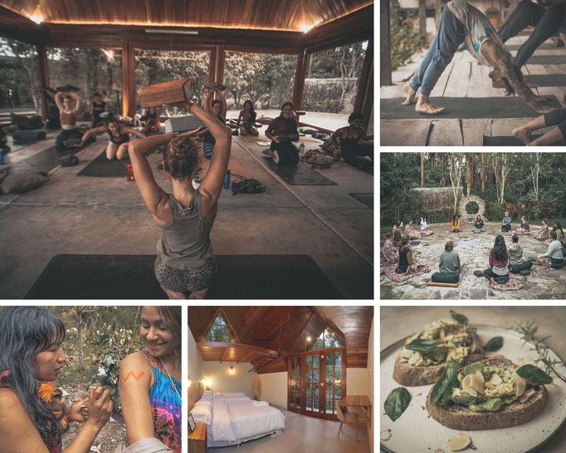 14 Day 200hr Integral Vinyasa, Yin & Karma YTT with Ayurvedic Self-Care Routines in the Amazon, Peru