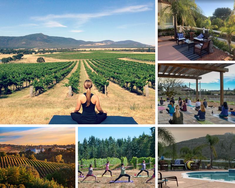 yoga and work in California