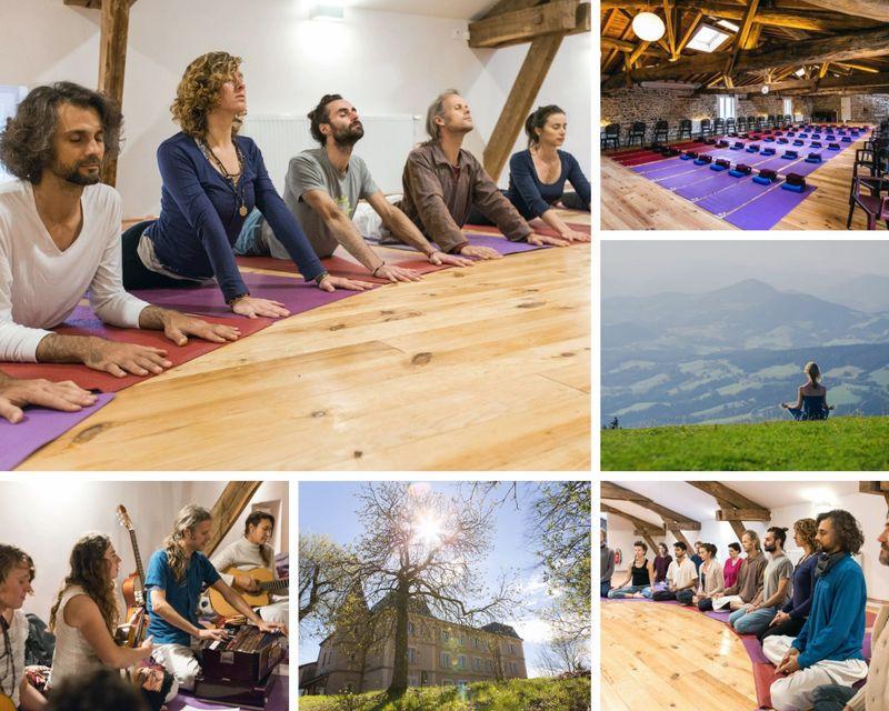 yoga retreat in Beaujolais