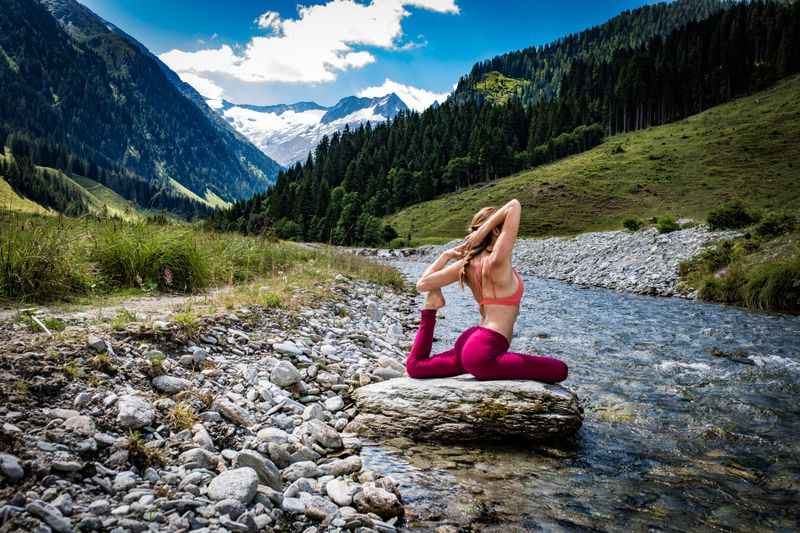 luxury yoga retreat in austria