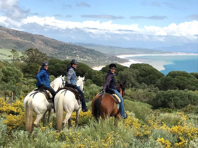 sierra nevada horse riding holiday