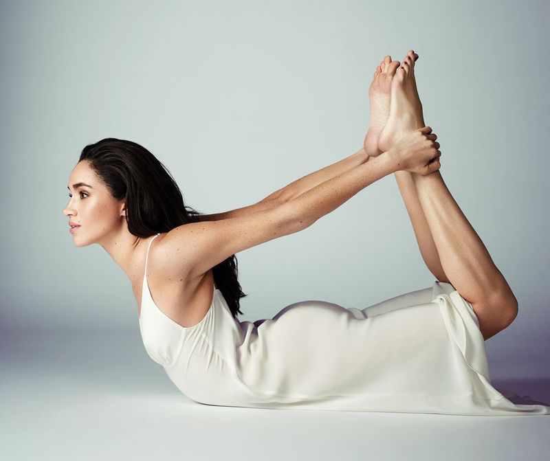 meghan markle yoga body