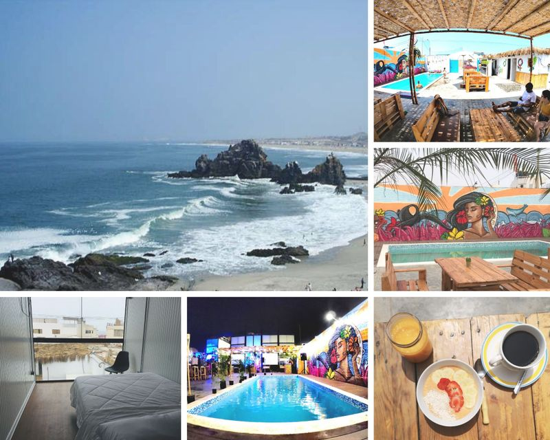 7 Day Advanced Surf and Yoga Camp in Punta Rocas, Lima