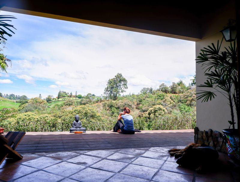 yoga retreat in medellin colombia