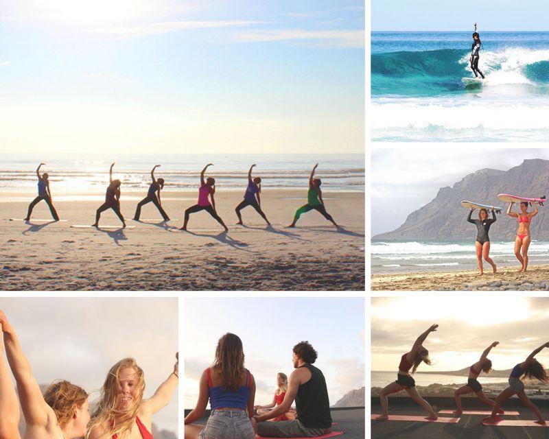 yoga retreat in Canary Islands