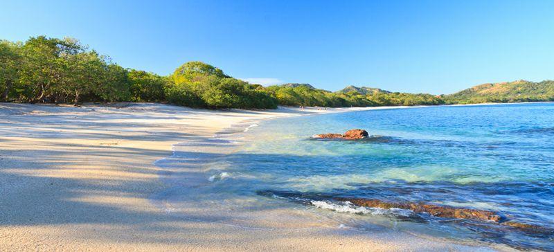 tamarindo white sand beach
